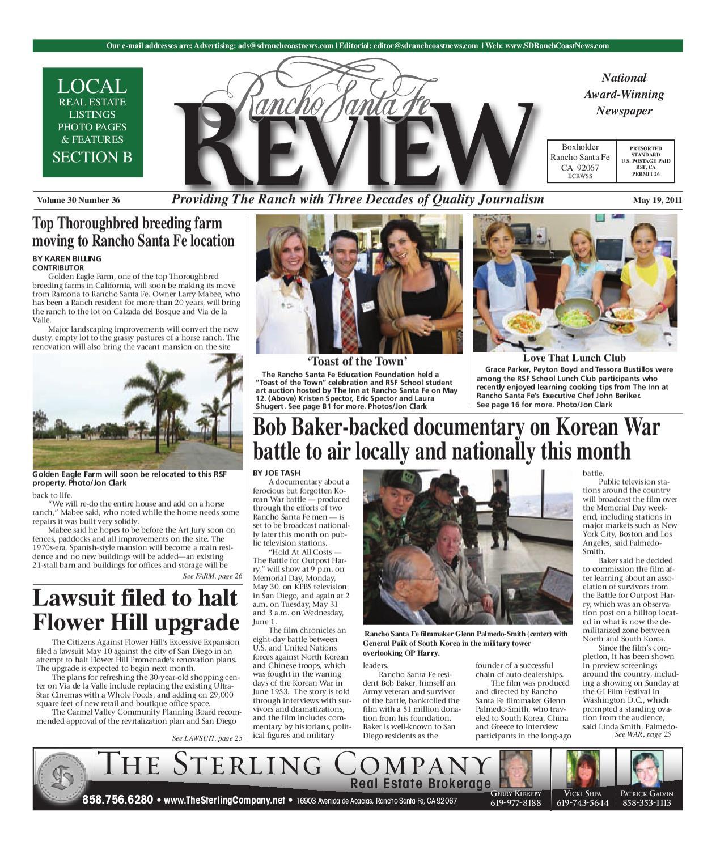 5-19-2011 Rancho Santa Fe Review by MainStreet Media - issuu
