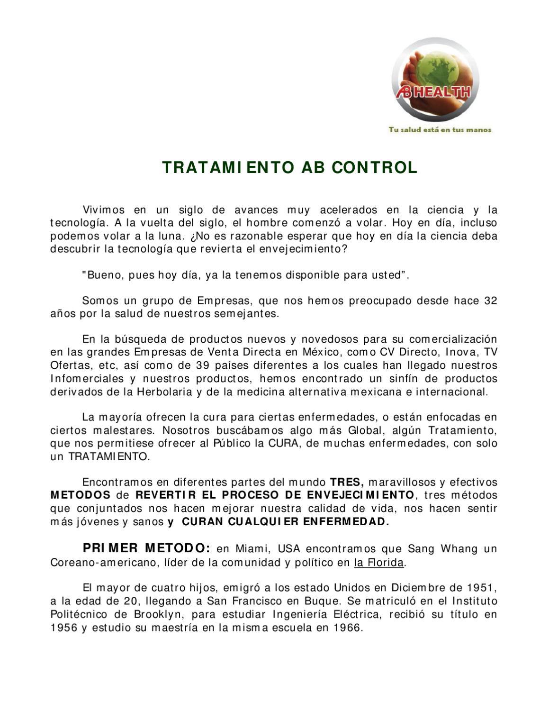 Tratamiento Ab Control by Josué Grande - issuu