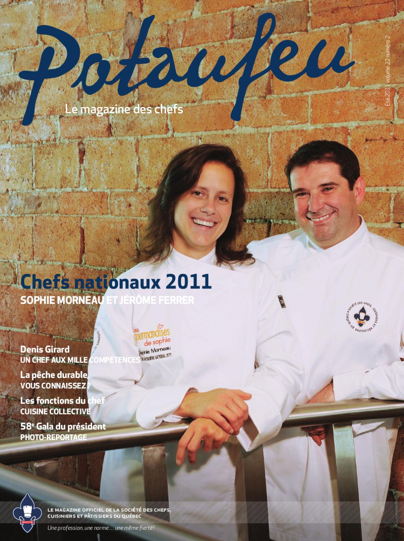 Potaufeu le magazine des chefs by groupe concept issuu for Chef de cuisine collective