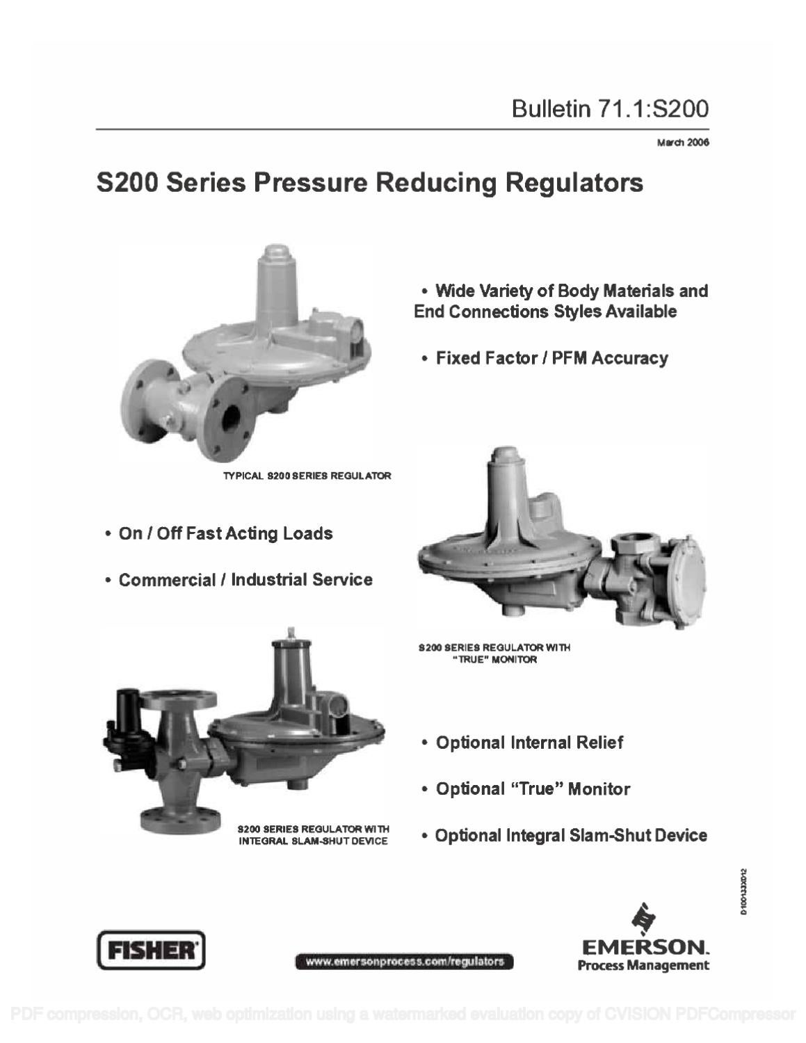 s201 bulletin by rmc process controls  u0026 filtration  inc