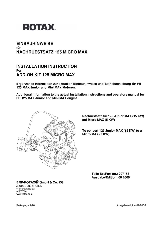 MICRO MAX INSTALLATION INSTRUCTION