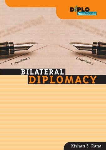 Bilateral Diplomacy by DiploFoundation - issuu