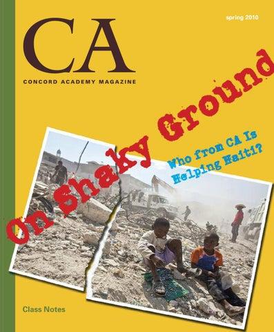 Spring 2012 Ca Magazine By Concord Academy Issuu