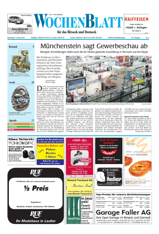 WOB_KW02_2011 By AZ Anzeiger   Issuu