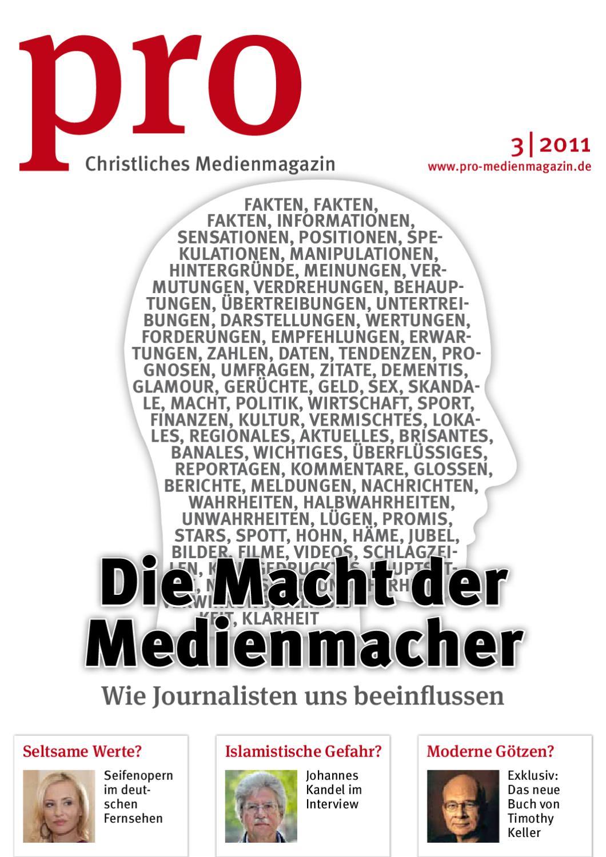 Christliches Medienmagazin pro 3|2011 by Christliches Medienmagazin ...