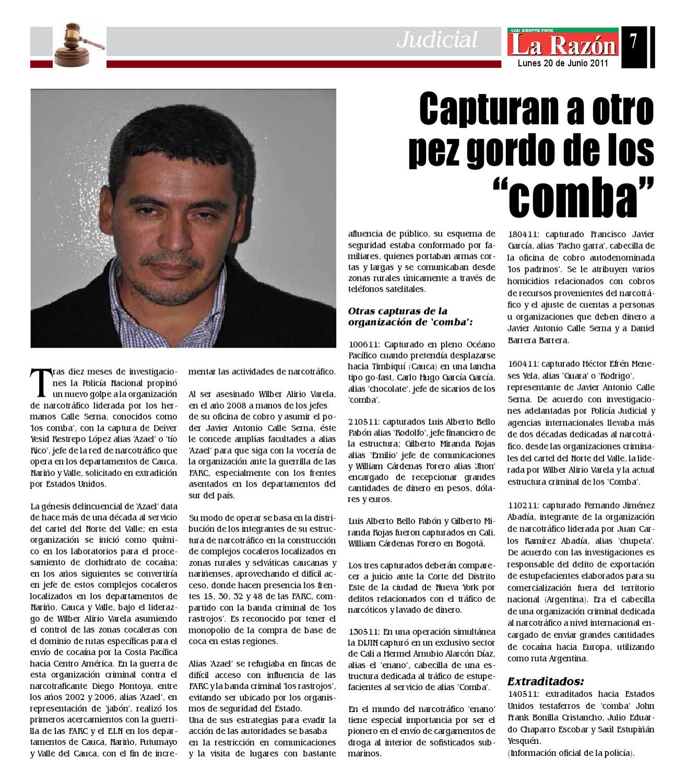 Diario La Razon Lunes 20 De Junio By Edgar Buitrago Rico