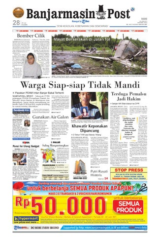 Banjarmasin Post Edisi Rabu 22 Juni 2011 by Banjarmasin Post - issuu 0256901025