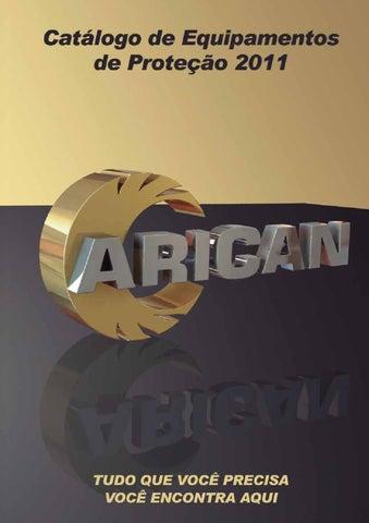 Catálogo Arican Equipamentos de Proteção 2011 by Glauco Gaspar de ... e6dc6cae6d