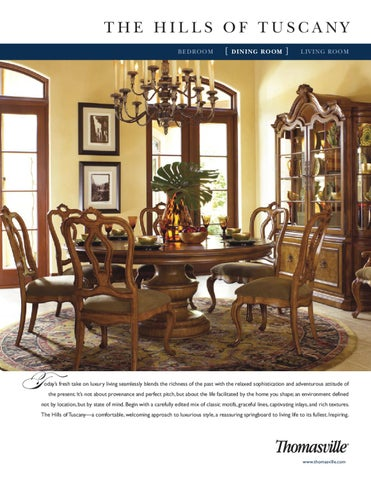Thomasville The Hills Of Tuscany Dining Room By Caux