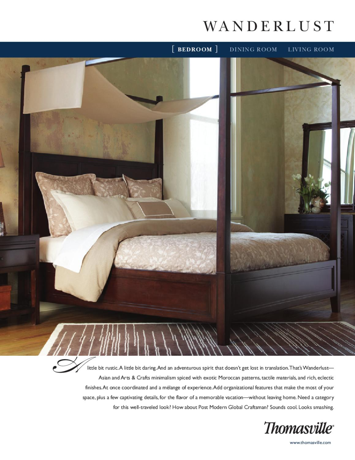 Thomasville- Wanderlust (Bedroom) by Cadieux & Company - issuu