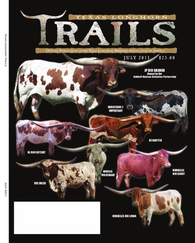 Texas Longhorn Trails Magazine by Texas Longhorn Trails Magazine - issuu 779cf28b4115