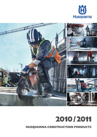 HCP Complete Range Catalogue by Husqvarna Construction