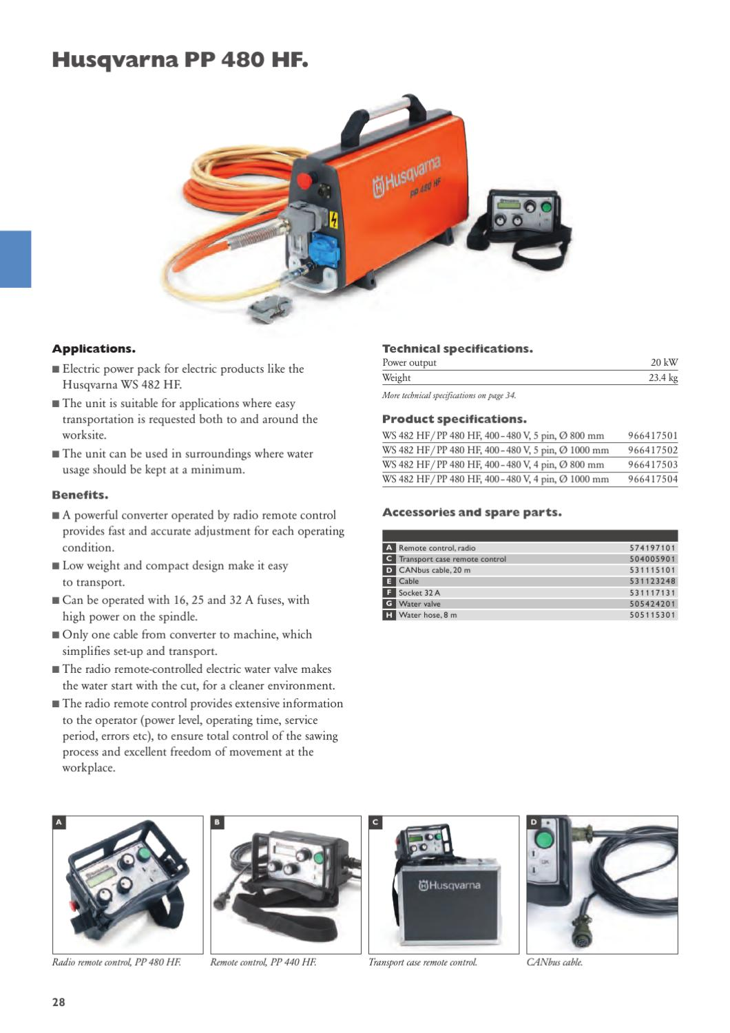 HCP Complete Range Catalogue by Husqvarna Construction Products - issuu