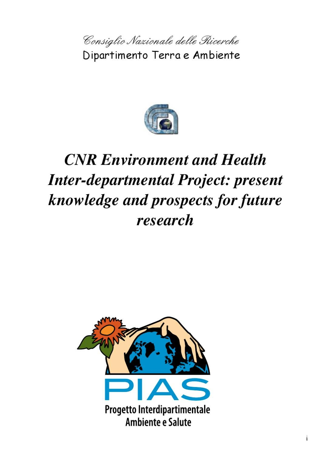 Cnr Environment And Health Inter Departmental Project By How To Test The Downstream Oxygen Sensor 19992002 Gm 48l 53l 6 Dipartimento Scienze Del Sistema Terra E Tecnologie Per Lambiente Issuu