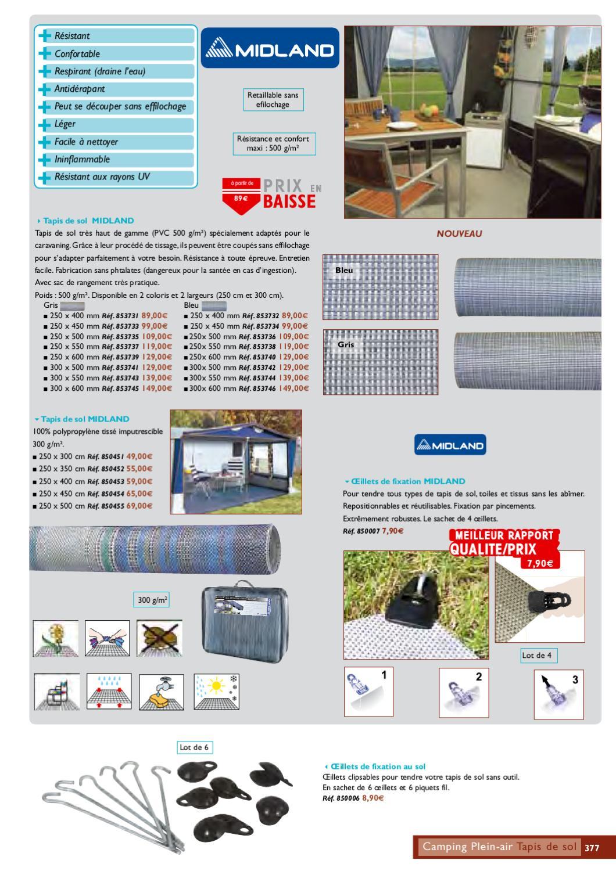 300 X 550 Cm Midland Tapis De Sol Pvc Bleu Cancer Org In