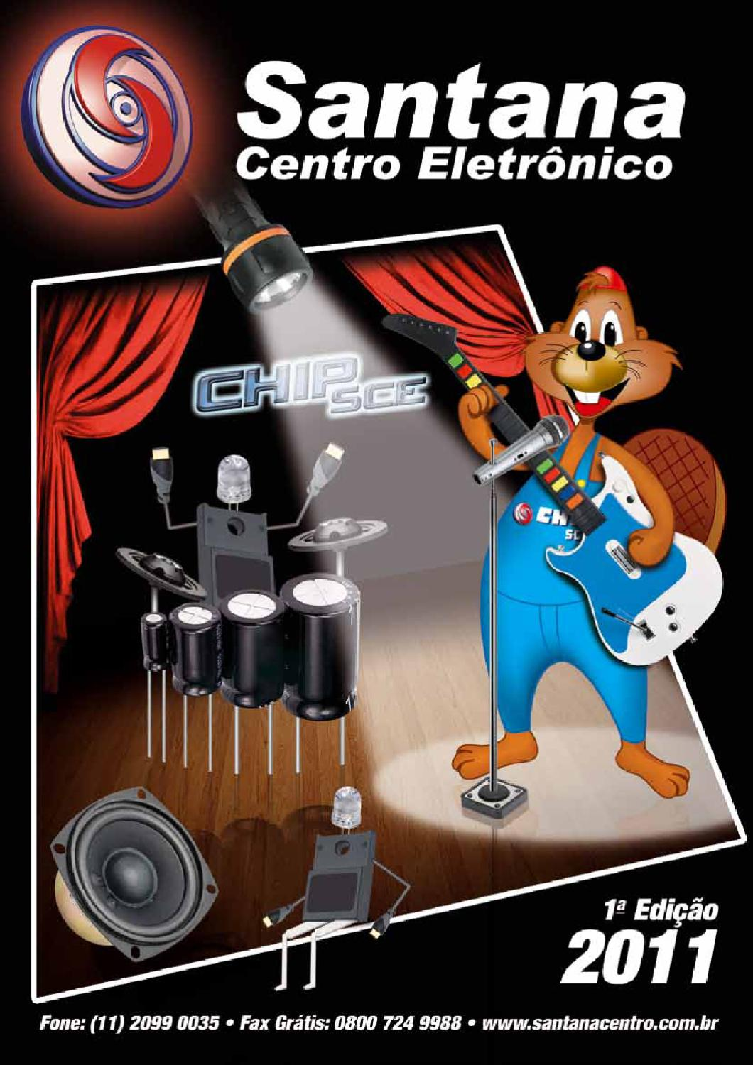 Catlogo Santana Centro 2011 By Eletrnico Issuu 30w Vhf Fm Amplifier For 88 8211 108 Mhz With Blf245 Mosfet