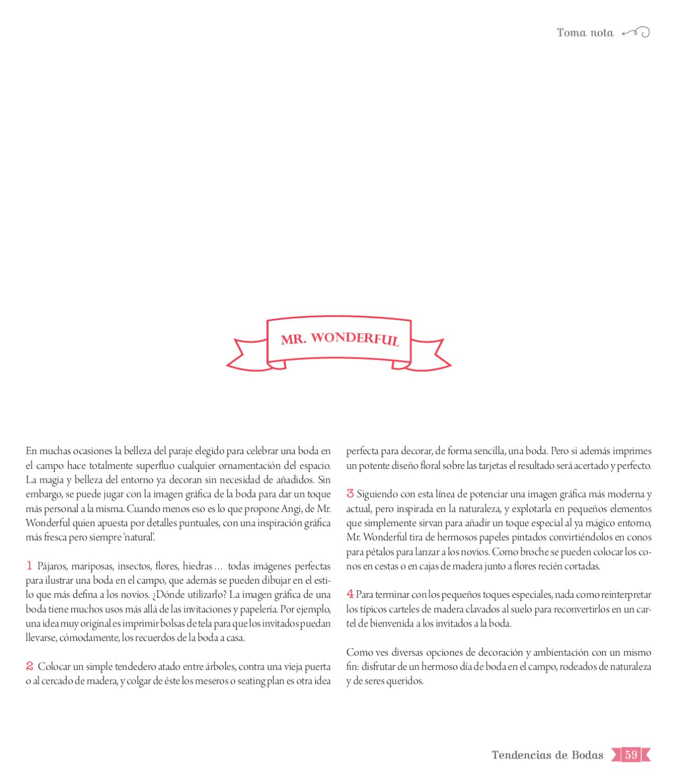 Nº01 Tendencias de Bodas Magazine (Jun'11) by Tendencias de Bodas - issuu