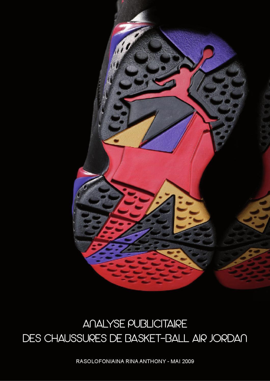 Analyse publicitaire des chaussures de basket ball Air