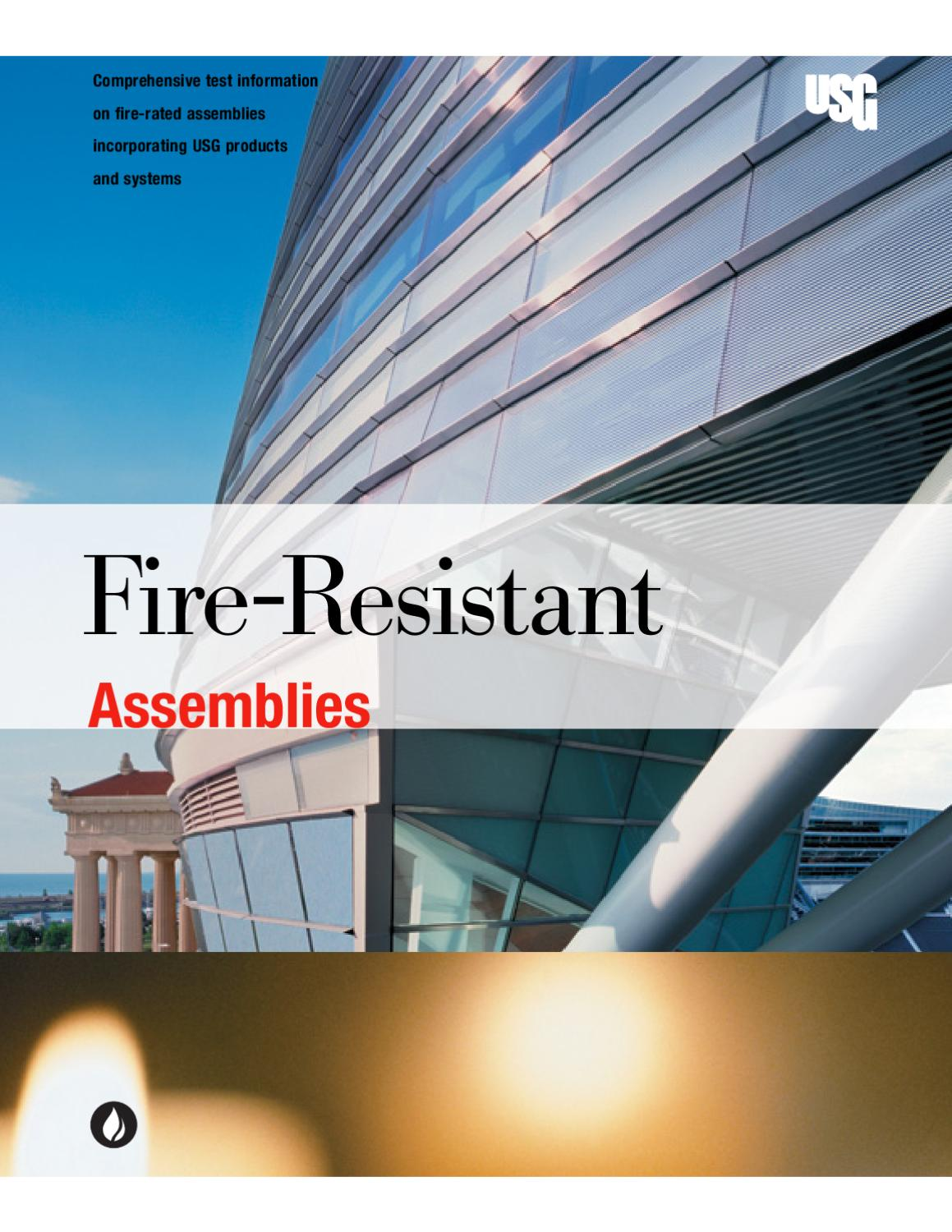 Fire Resistant Assemblies By Macopa Issuu