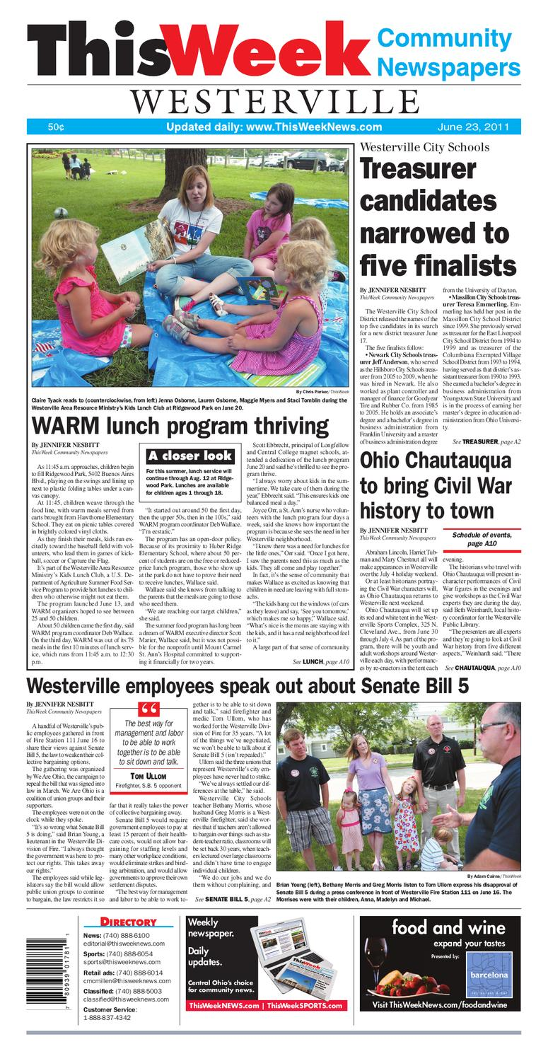 ThisWeek Westerville 6 23 by The Columbus Dispatch issuu