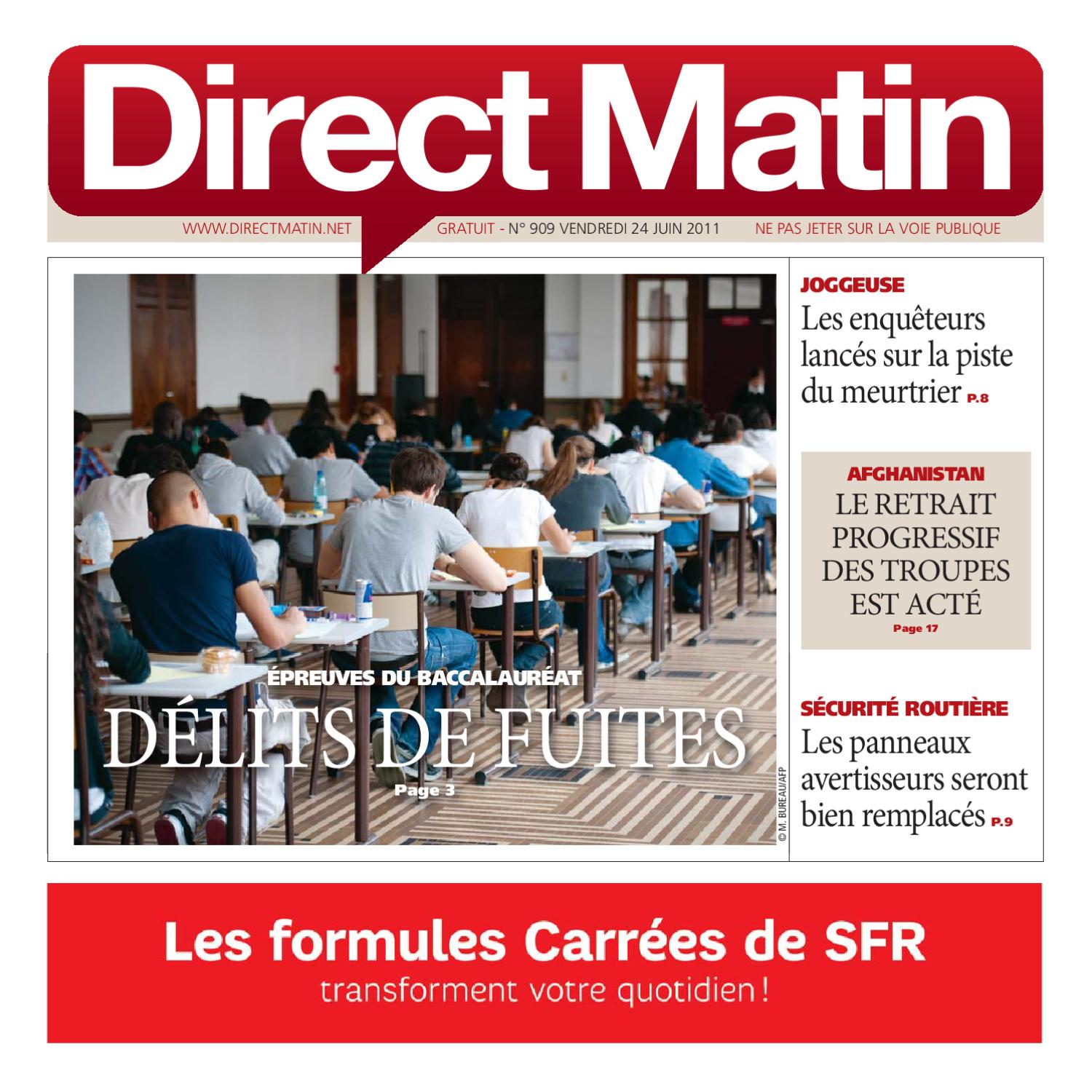 direct matin edition paris ile de france 909 by bollor issuu. Black Bedroom Furniture Sets. Home Design Ideas