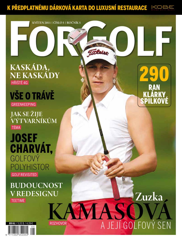 ForGolf 2011 5 by Golf Czech - issuu 61bc23f8d31