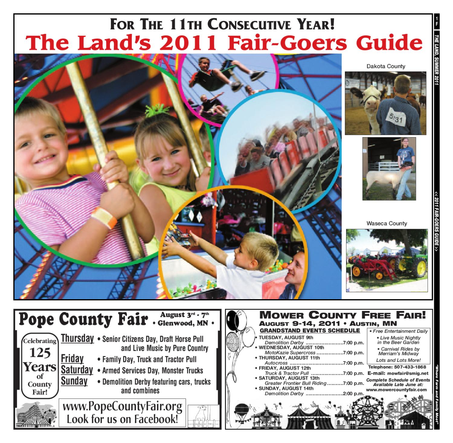 COUNTY FAIR GUIDE by The Land - issuu