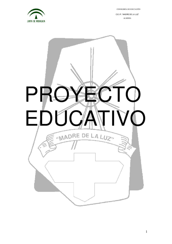Proyecto Educativo 2010-11(a aprobar en junio 2011) by FAPACE ...