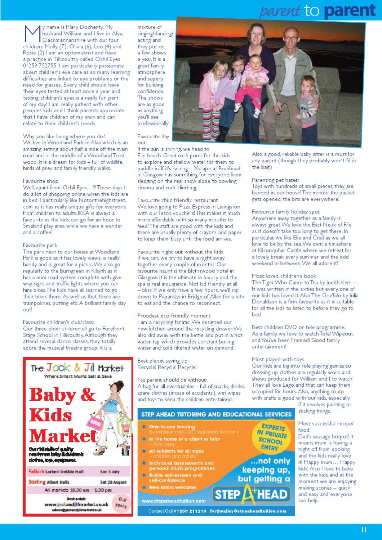 Families Central Scotland Jul Aug 2011 By Families Magazine
