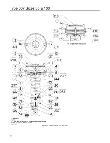 667 80100 Actuator Instruction Manual By Rmc Process Controls