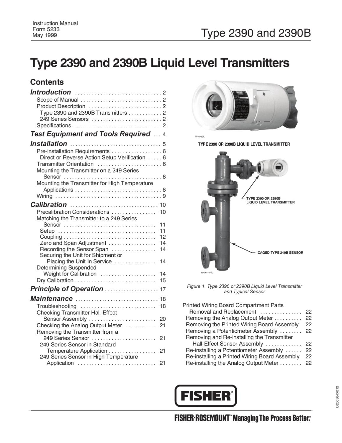 23902390b Transmitter Instruction Manual By Rmc Process Controls Hall Effect Current Sensor Wiring Filtration Inc Issuu