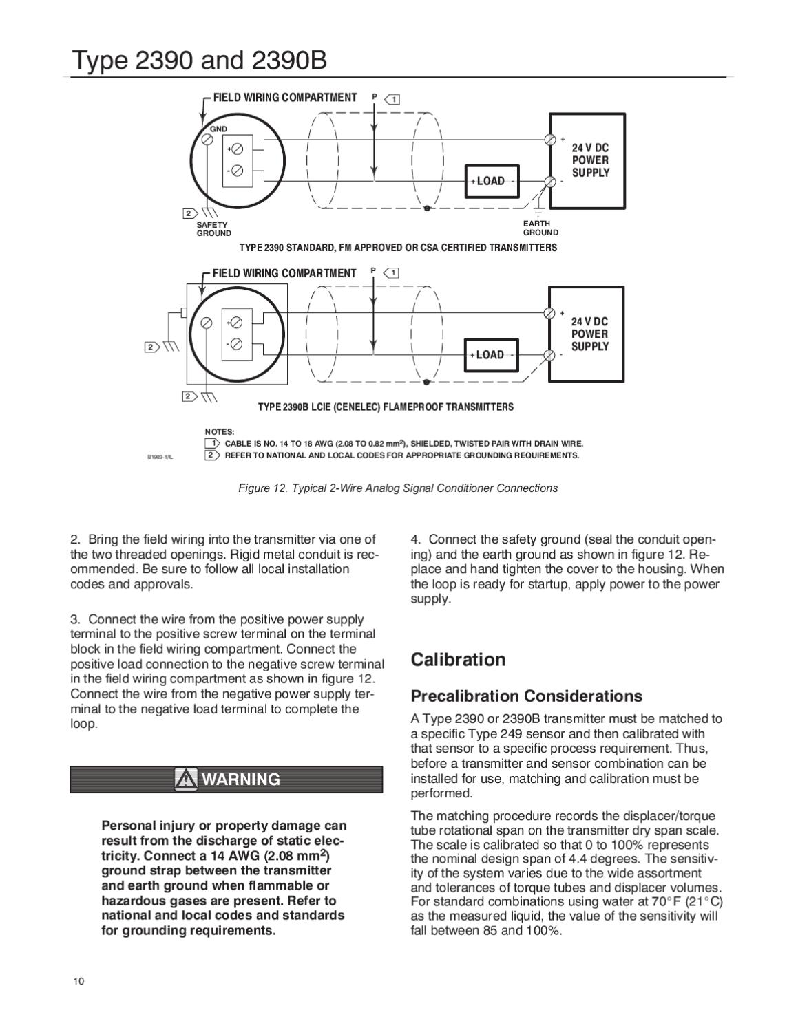 Cool 2390 2390B Transmitter Instruction Manual By Rmc Process Controls Wiring Digital Resources Jonipongeslowmaporg
