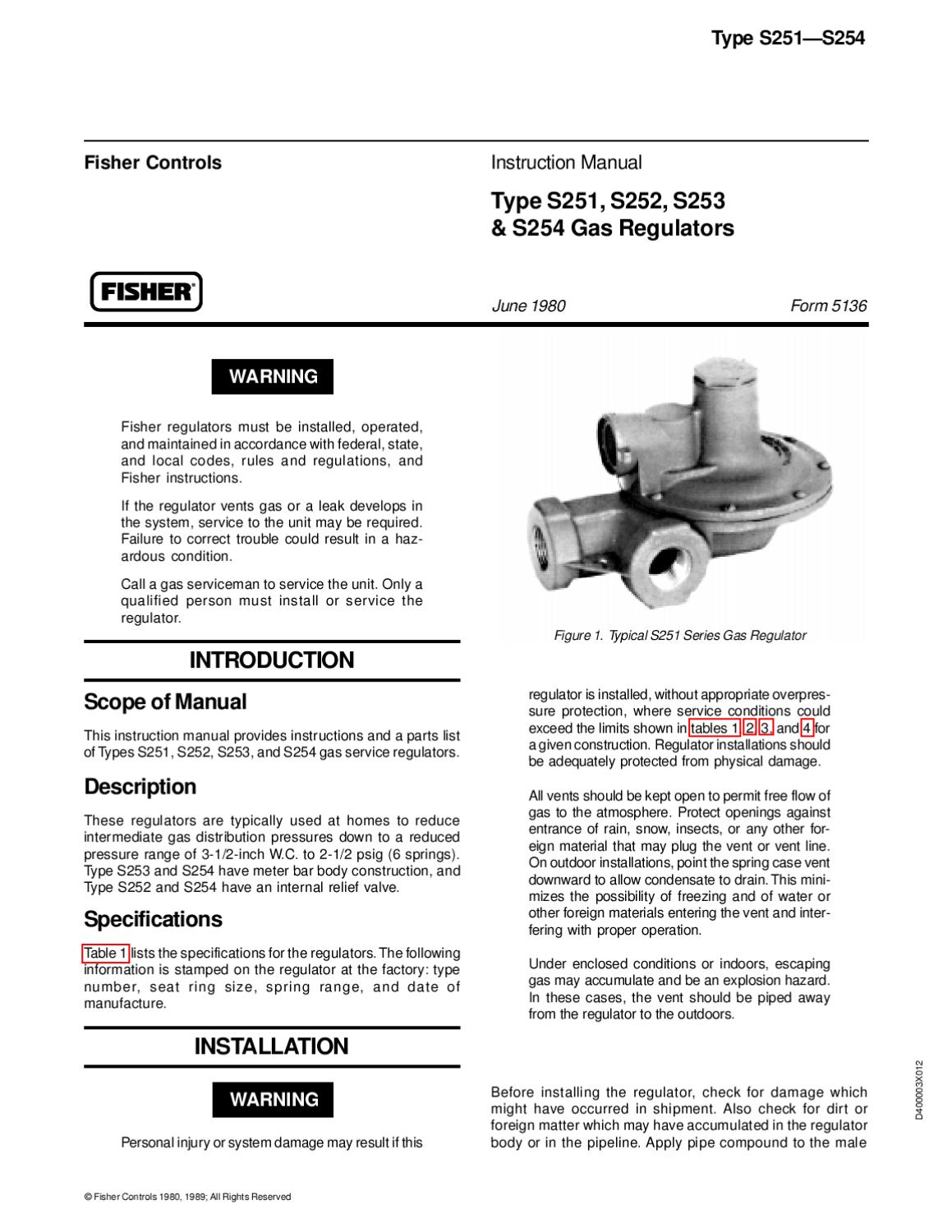 S251~S252~S253~S254 Instruction Manual by RMC Process