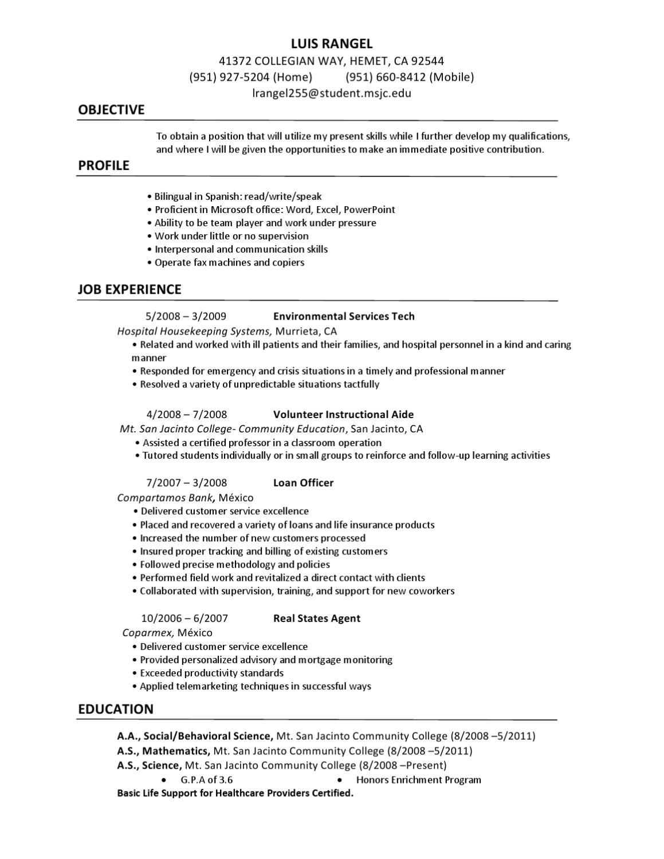Resume- Luis Rangel by Luis Rangel - issuu