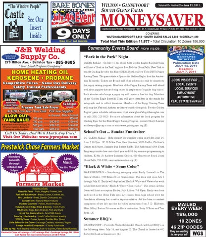 Wilton Gansevoort SGF Moneysaver 062311 by Capital Region Weekly ... 3281c27cb68
