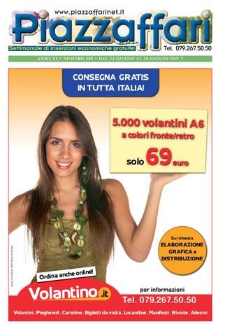 eb01390974 Piazzaffari n° 588 del 24 giugno 2011 by Marco Cau - issuu