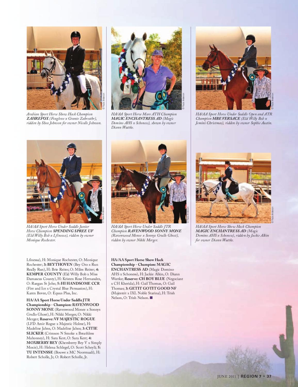 Arabian Horse Times June 2011 by Arabian Horse Times - issuu