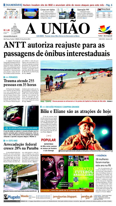 d61d9f1ef JORNAL A UNIÃO by Jornal A União - issuu