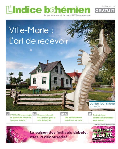 JUIN 2011 LINDICE BOHMIEN COPIE 19 By Journal Culturel De L