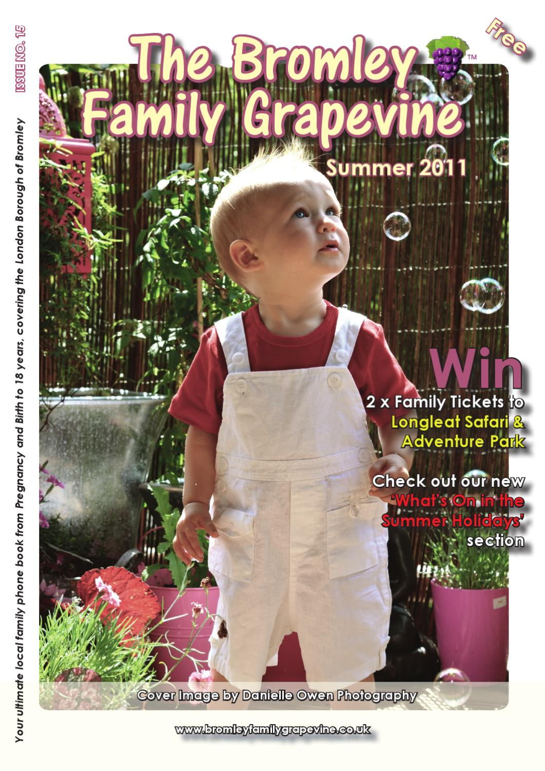 The Bromley Family Grapevine By Natasha Hutchings Issuu