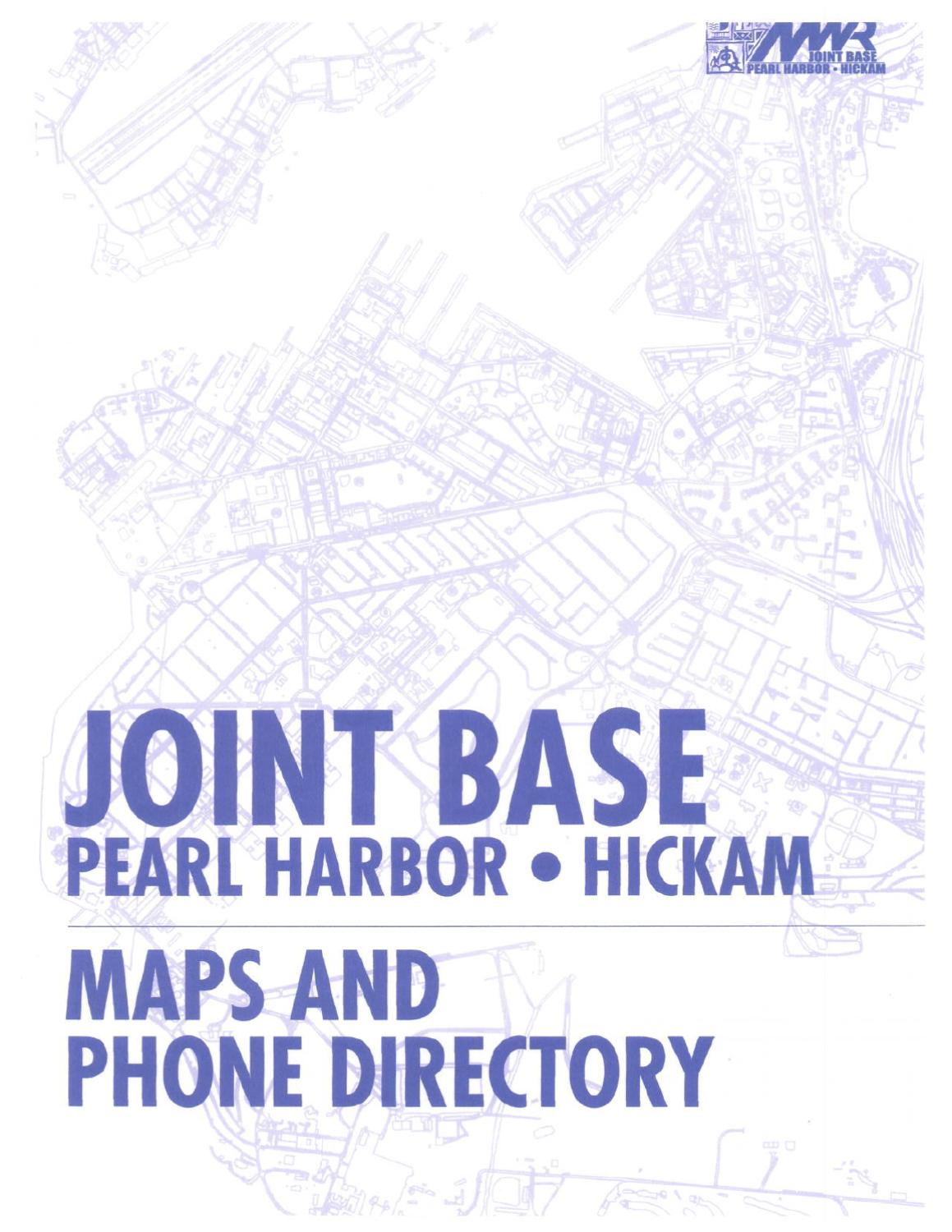 Joint Base Pearl Harbor Hickam Maps and Directory   Attachment by