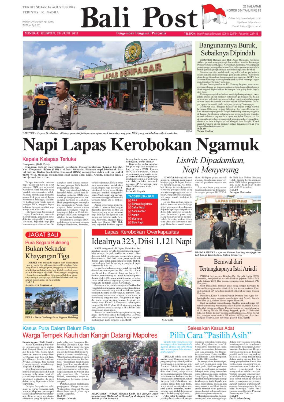 Edisi 26 Juni 2011