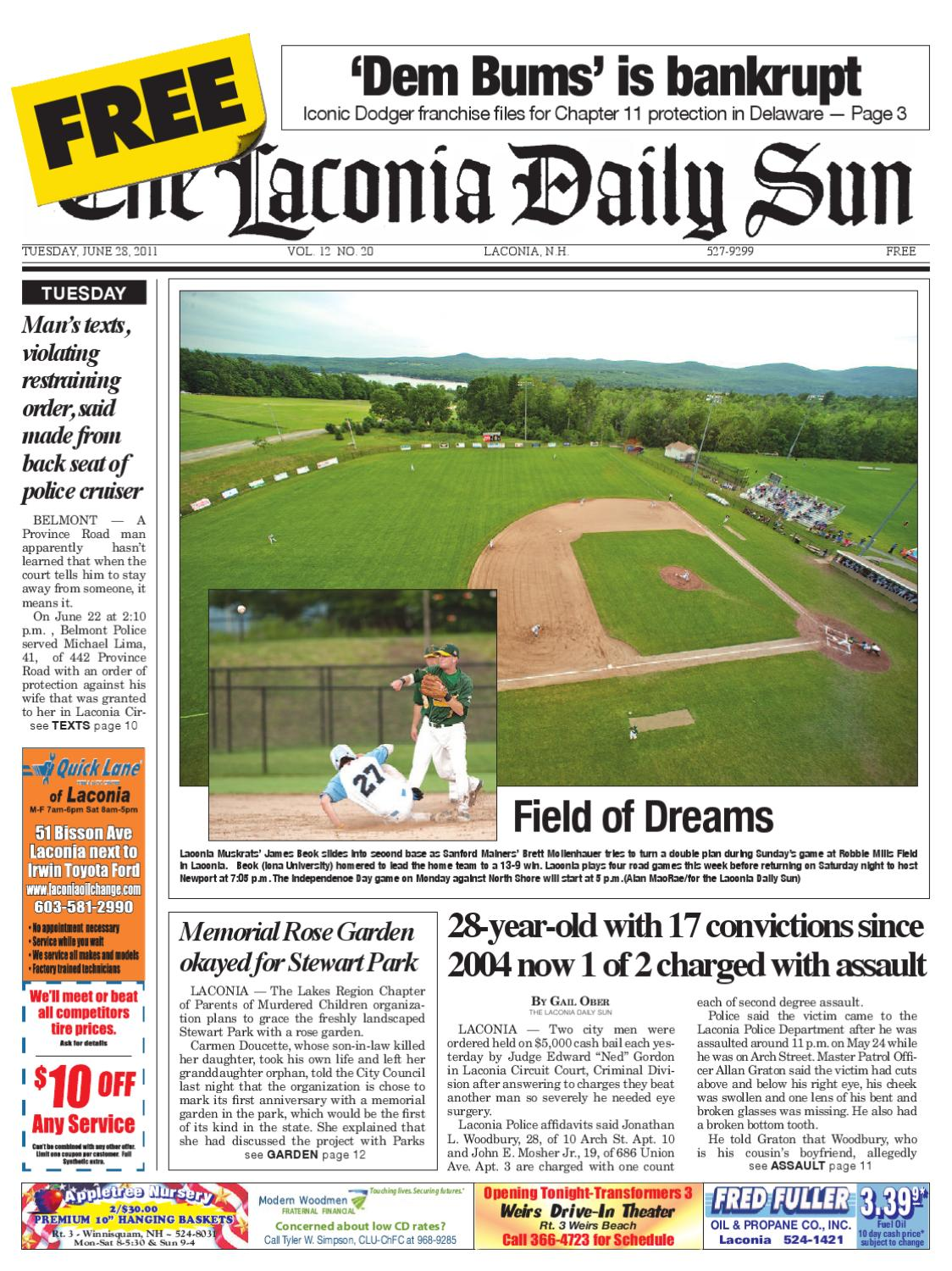 The Laconia Daily Sun, June 28, 2011 by Daily Sun - issuu