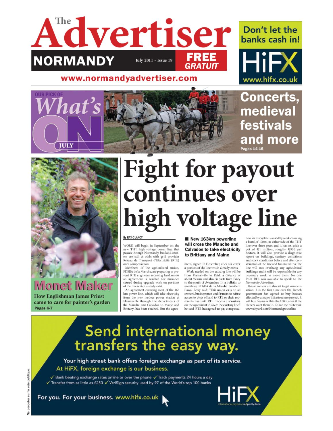 The Normandy Advertiser July 2011 By English Language Media Sarl