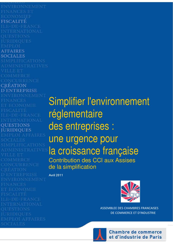 Simplification de l 39 environnement reglementaire pour les for Liste entreprise loiret