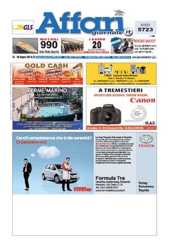 detailed look a5ebd bcc85 Giornale Affari 24 Giugno 2011 by Editoriale Affari Srl - issuu