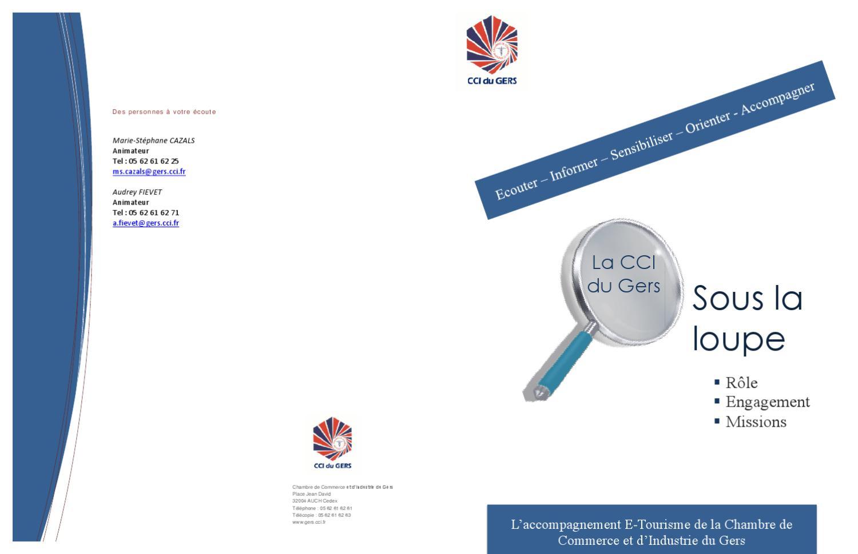 Fiche cci test 1 by raissa d issuu - Chambre de commerce auch ...