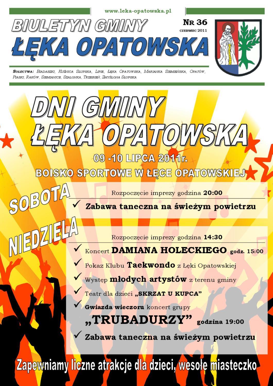 Zabawy na dmuchacach - Gmina ka Opatowska