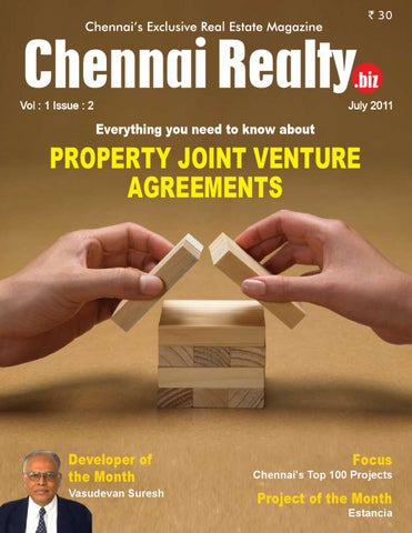 Chennai Realty, July 2011 Edition by Chennai Realt biz - issuu