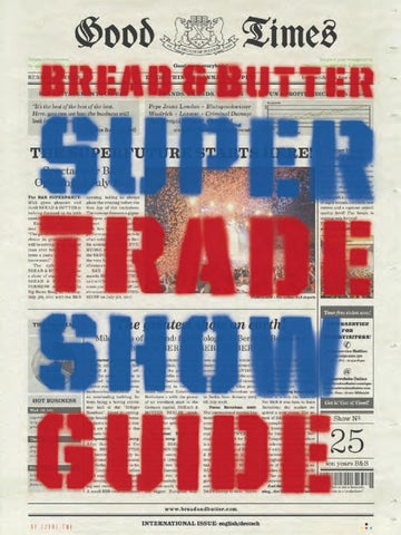 TSG_SUPERSHOW_Part_2 by BREAD & butter GmbH & Co. KG issuu